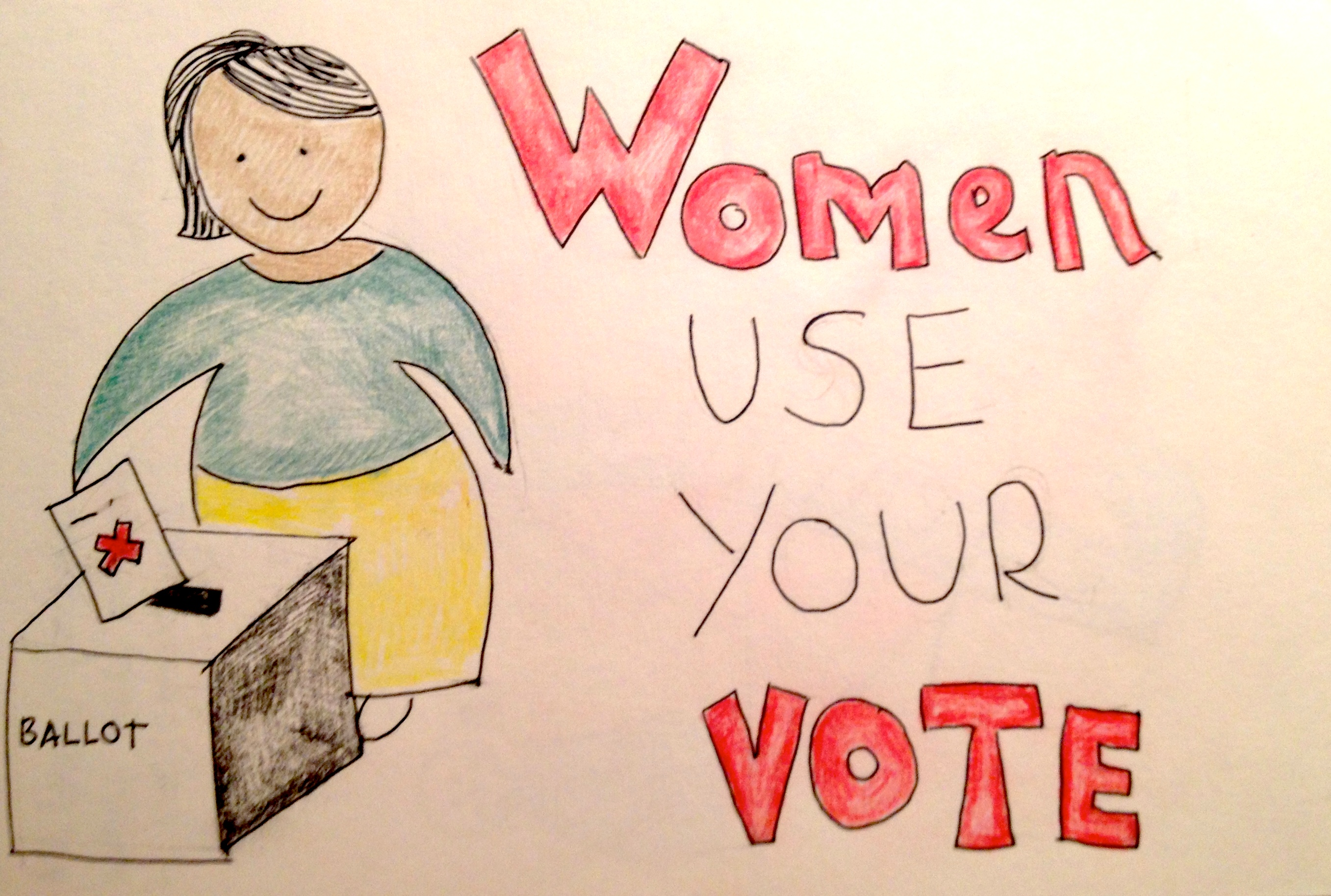 women use your vote